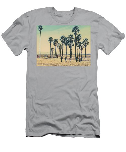 Stroll Down Venice Beach Men's T-Shirt (Athletic Fit)
