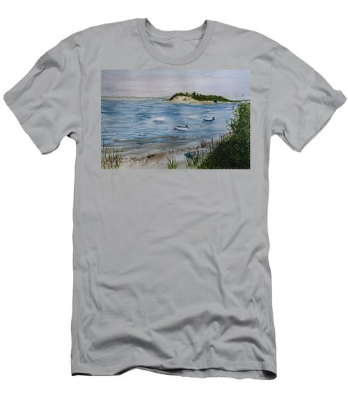 Strong Island Men's T-Shirt (Slim Fit) by Donna Walsh