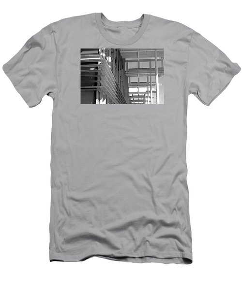 Structure Abstract 2 Men's T-Shirt (Slim Fit) by Cheryl Del Toro