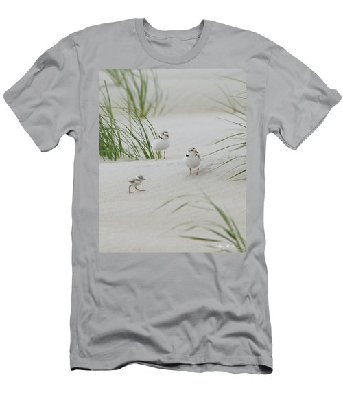 Struggle In The Blowing Sand Men's T-Shirt (Athletic Fit)