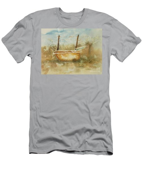 Study Of A Watering Tub Men's T-Shirt (Athletic Fit)