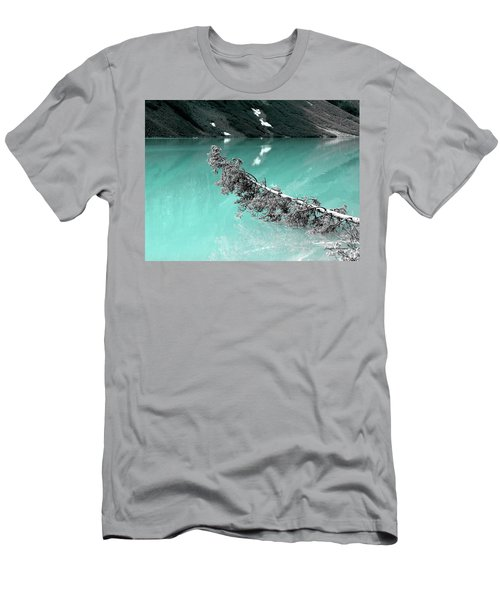 Stunning Turquoise Glacial Lake Men's T-Shirt (Athletic Fit)
