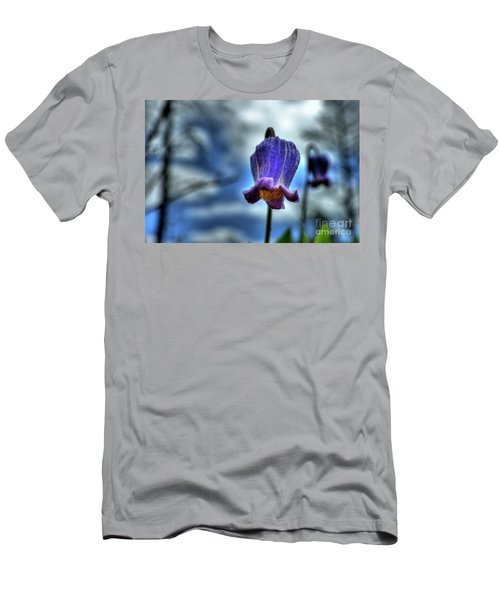 Sugarbowl Leather Flower Men's T-Shirt (Athletic Fit)