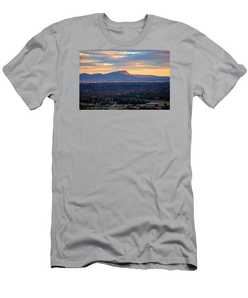 Sugarloaf View, South Deerfield, Ma Men's T-Shirt (Athletic Fit)