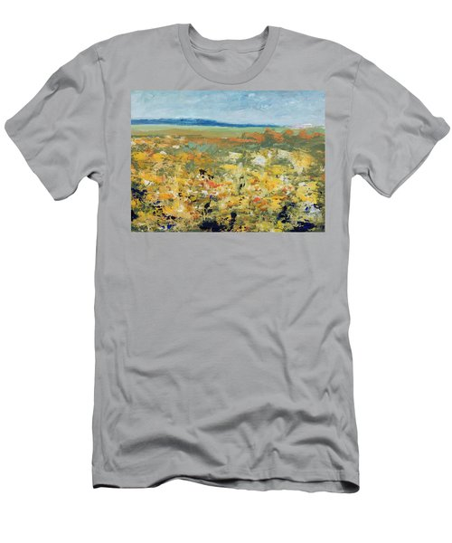 Suggestion Of Flowers Men's T-Shirt (Athletic Fit)