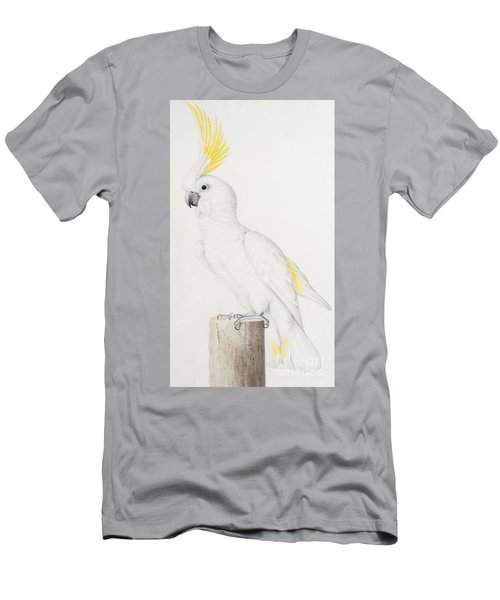 Sulphur Crested Cockatoo Men's T-Shirt (Slim Fit) by Nicolas Robert
