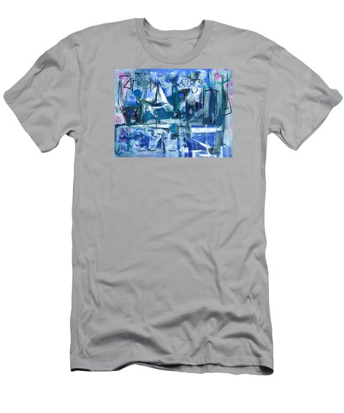 Summer Coming Down Final Version Men's T-Shirt (Slim Fit) by Betty Pieper