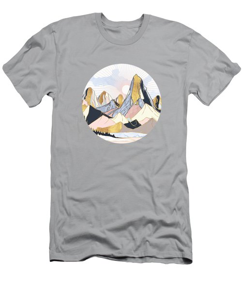 Summer Morning Men's T-Shirt (Athletic Fit)