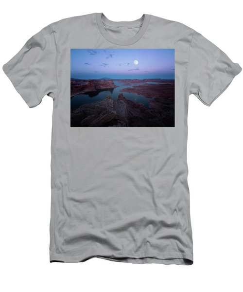 Summer Night Men's T-Shirt (Athletic Fit)