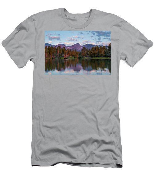 Summer On Sprague Lake Men's T-Shirt (Athletic Fit)