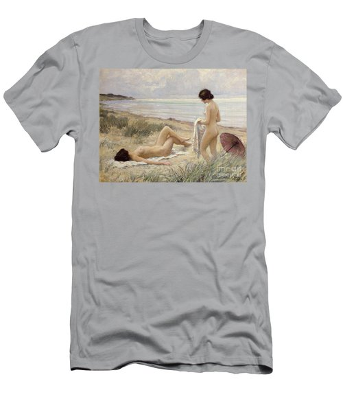 Summer On The Beach Men's T-Shirt (Athletic Fit)