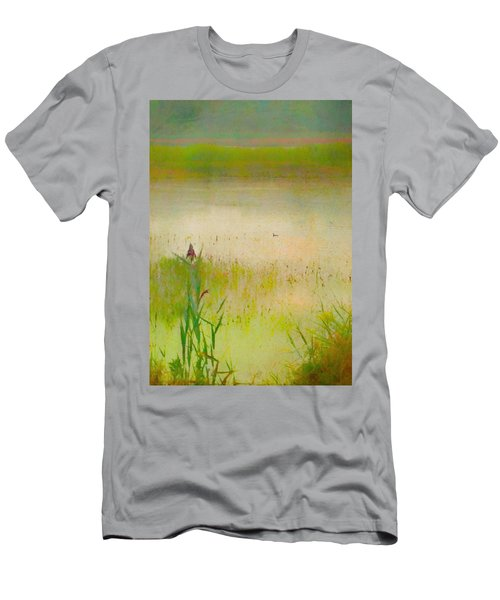 Summer Reeds Men's T-Shirt (Slim Fit) by Catherine Alfidi