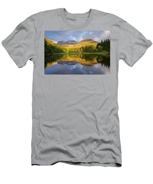 Summer Reflections At The Torren Lochan Men's T-Shirt (Athletic Fit)