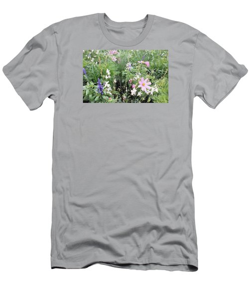 Men's T-Shirt (Athletic Fit) featuring the digital art Summer Spray by Julian Perry