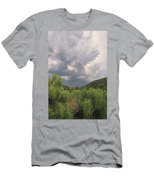 Men's T-Shirt (Athletic Fit) featuring the photograph Summer Storm by Ron Cline