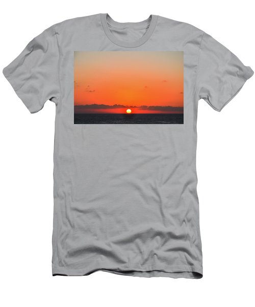 Sun Balancing On The Horizon Men's T-Shirt (Athletic Fit)