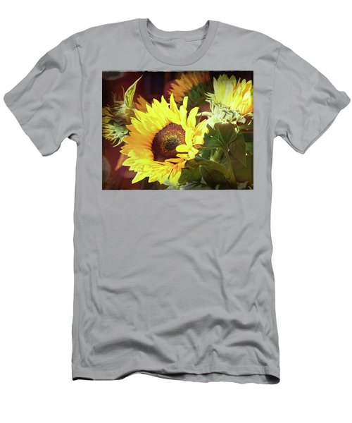 Men's T-Shirt (Athletic Fit) featuring the photograph Sun Of The Flower by Michael Hope