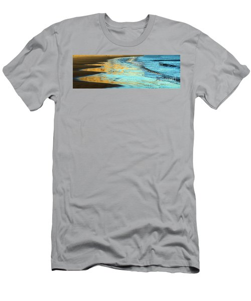 Sun Splashed Waves At Point Reyes National Seashore California Men's T-Shirt (Athletic Fit)