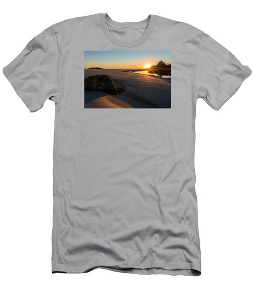 Sun Up Good Harbor Men's T-Shirt (Athletic Fit)