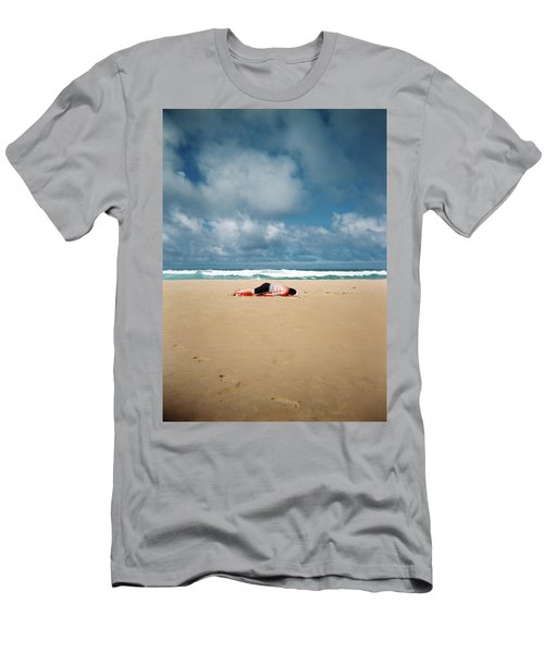 Sunbather Men's T-Shirt (Athletic Fit)