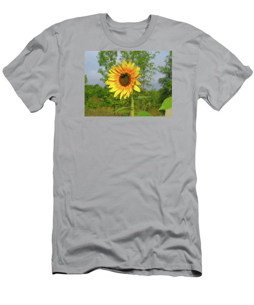 Ah, Sunflower Men's T-Shirt (Slim Fit) by Deborah Dendler