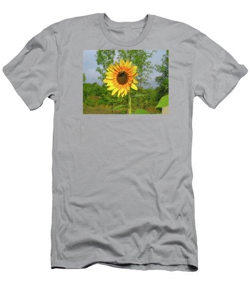 Ah, Sunflower Men's T-Shirt (Athletic Fit)