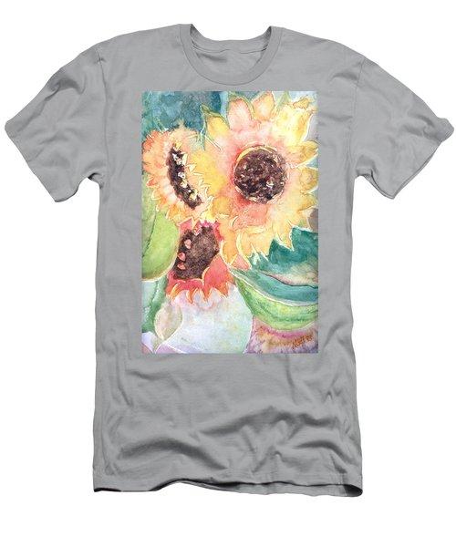 Sunflower Glory Men's T-Shirt (Athletic Fit)