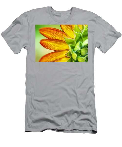Sunflower Macro 1 Men's T-Shirt (Athletic Fit)