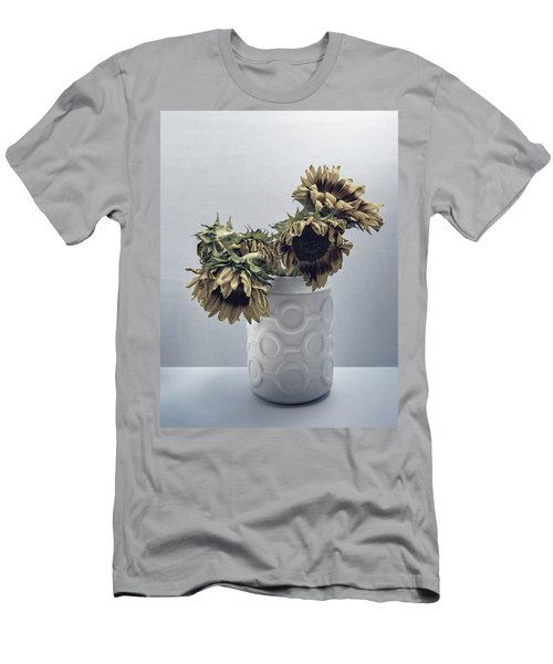 Sunflowers Fading Away Men's T-Shirt (Athletic Fit)