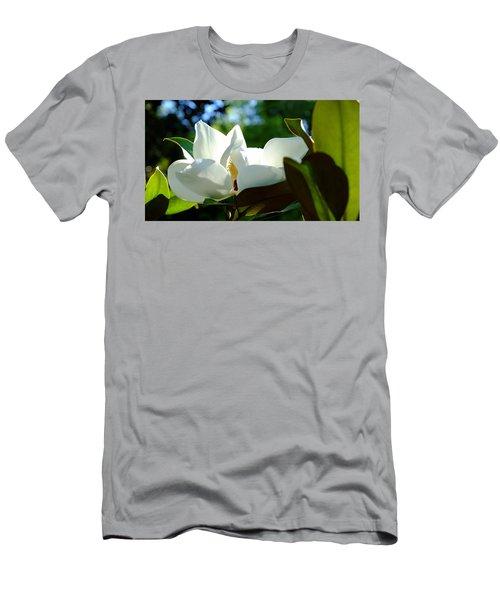 Sunlit Bloom Men's T-Shirt (Athletic Fit)