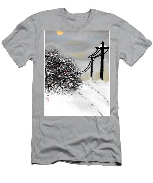 Sunny 28 Below Men's T-Shirt (Athletic Fit)