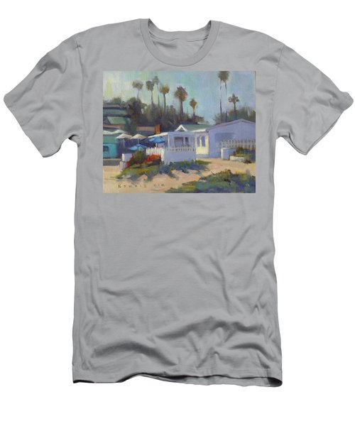 Sunny Day At Crystal Cove Men's T-Shirt (Athletic Fit)