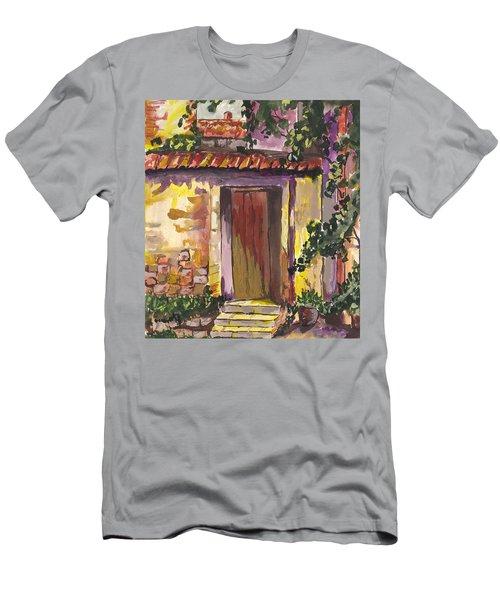 Sunny Doorway Men's T-Shirt (Athletic Fit)