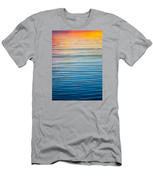 Sunrise Abstract  Men's T-Shirt (Slim Fit) by Parker Cunningham