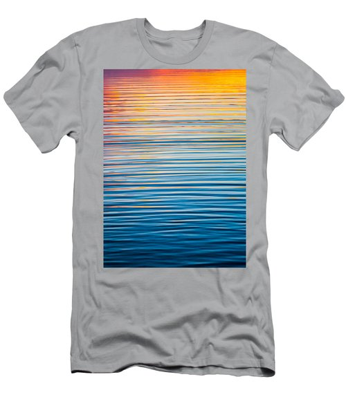 Sunrise Abstract  Men's T-Shirt (Athletic Fit)