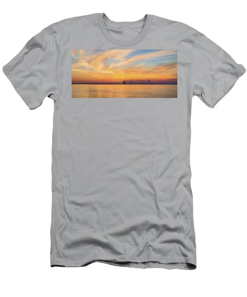 Men's T-Shirt (Slim Fit) featuring the photograph Sunrise And Splendor by Bill Pevlor