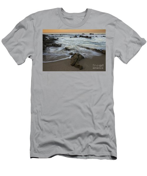 Sunrise At Laguna Beach Men's T-Shirt (Athletic Fit)