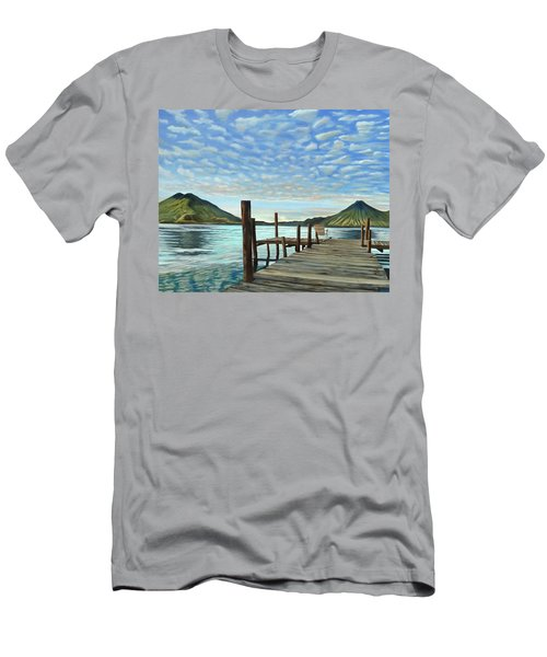 Sunrise At The Water Men's T-Shirt (Athletic Fit)