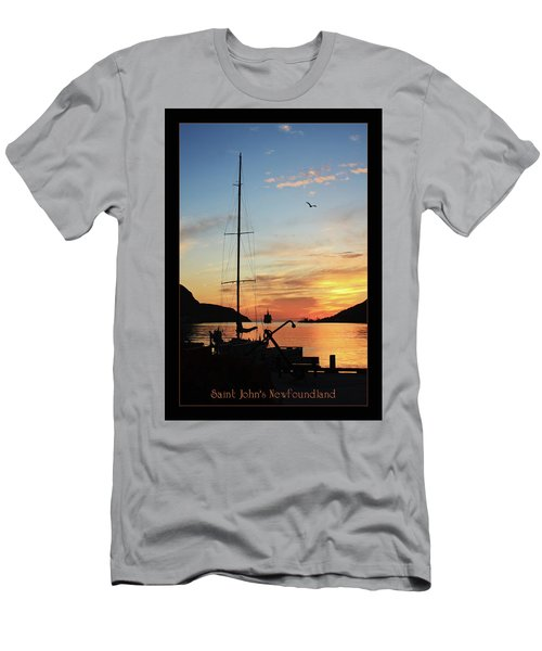 Sunrise In Newfoundland Men's T-Shirt (Athletic Fit)