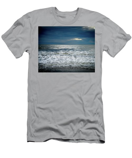 Sunrise-kennebunk Beach Men's T-Shirt (Athletic Fit)
