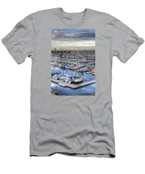 Sunrise On The Harbor Men's T-Shirt (Athletic Fit)