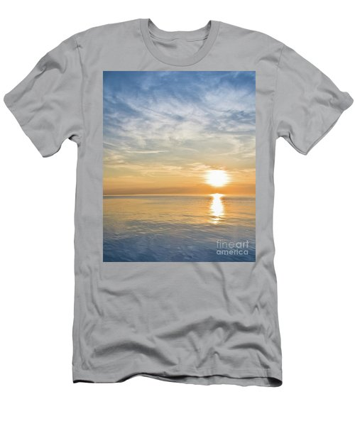 Sunrise Over Lake Michigan In Chicago Men's T-Shirt (Athletic Fit)