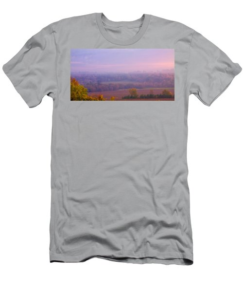 Sunrise Over Mid Valley 2 Men's T-Shirt (Athletic Fit)