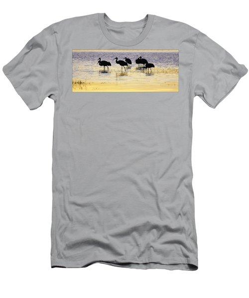 Sunrise Silhouette Men's T-Shirt (Athletic Fit)