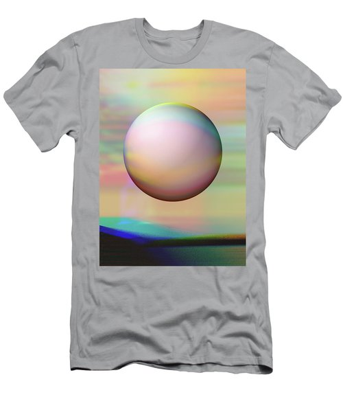 Men's T-Shirt (Slim Fit) featuring the digital art Sunrise Visitor by Wendy J St Christopher
