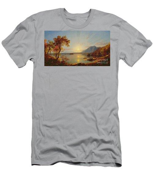 Sunset  Lake George Men's T-Shirt (Athletic Fit)
