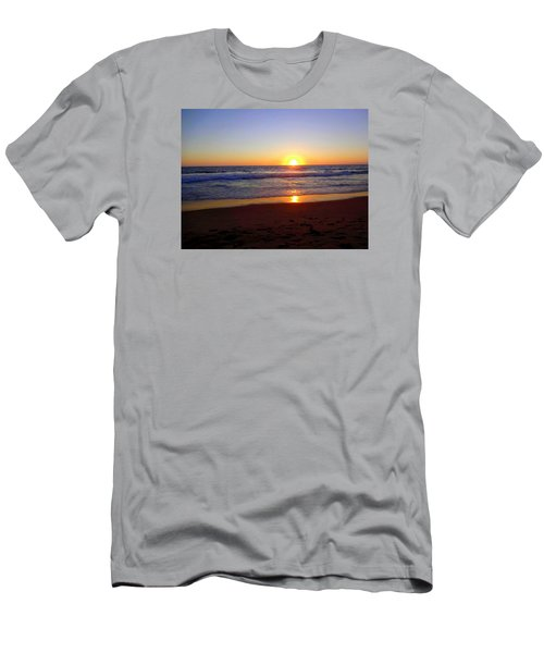 Sunset At Hermosa Men's T-Shirt (Athletic Fit)