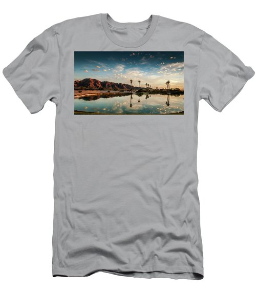 Sunset At Las Barancas Men's T-Shirt (Slim Fit) by Martina Thompson