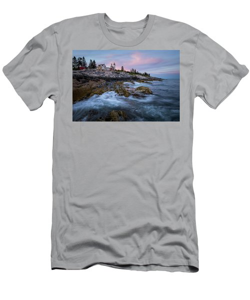 Sunset At Pemaquid Men's T-Shirt (Athletic Fit)