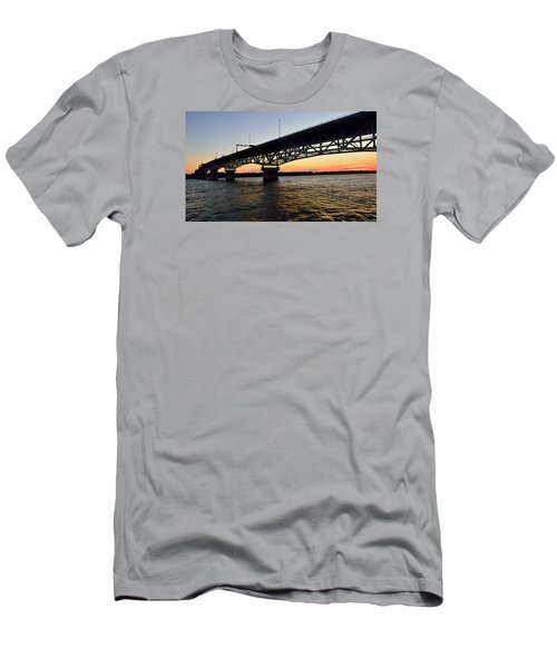 Sunset At The Coleman Bridge Men's T-Shirt (Athletic Fit)
